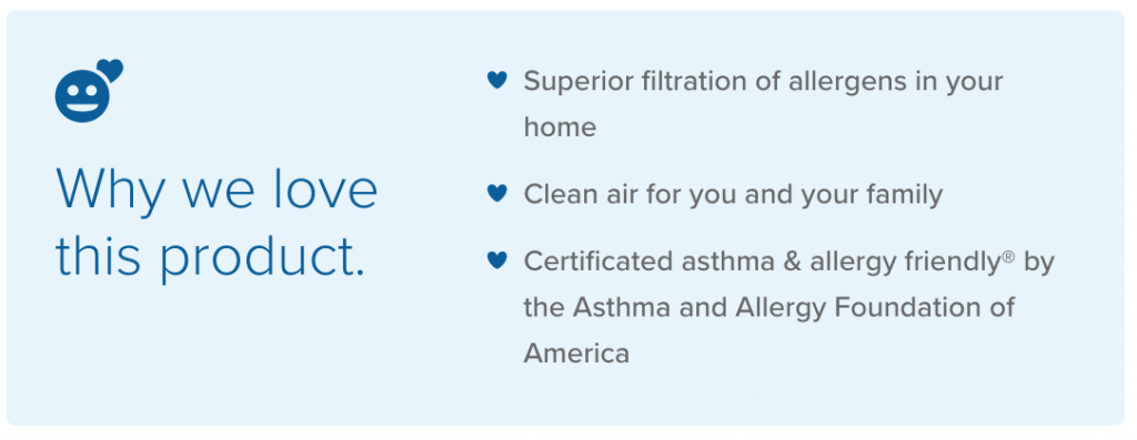 Accuclean features