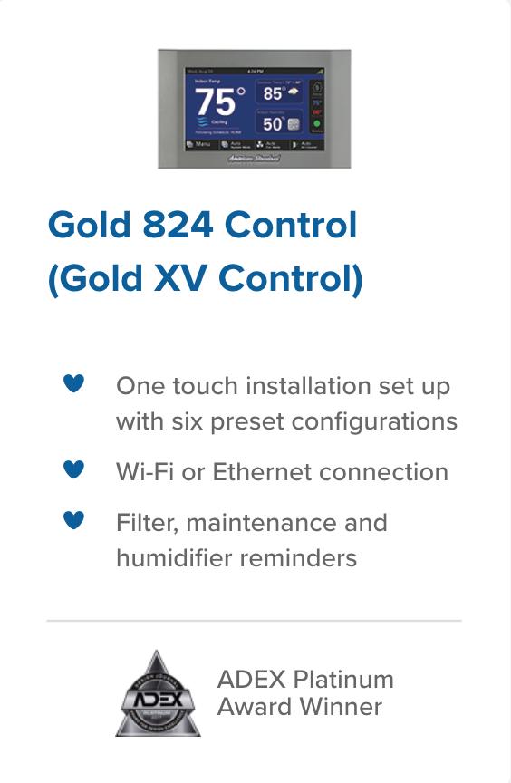 Gold 824 Control