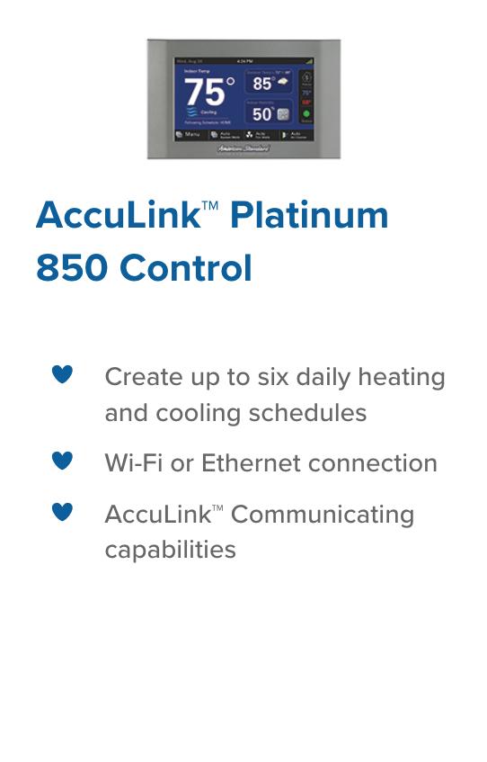 Platinum 850 Control