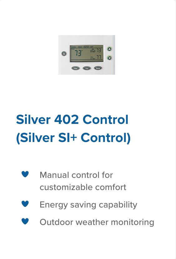 Silver 402 control