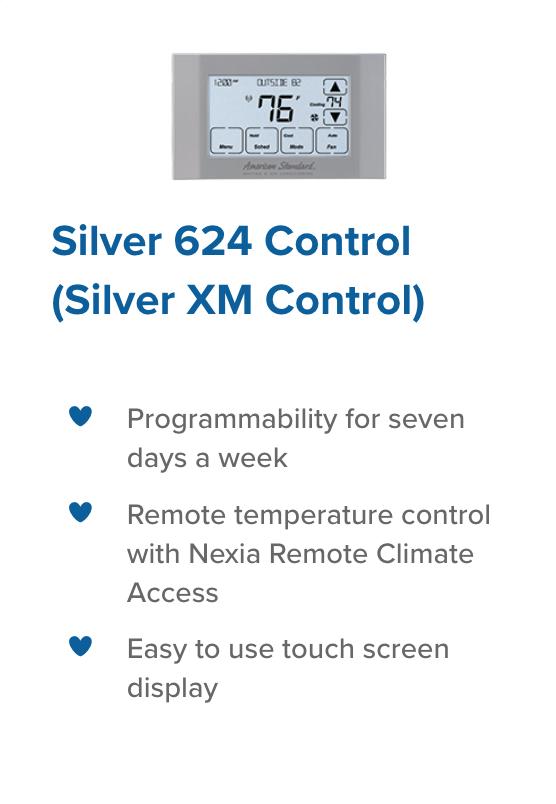 Silver 624 control