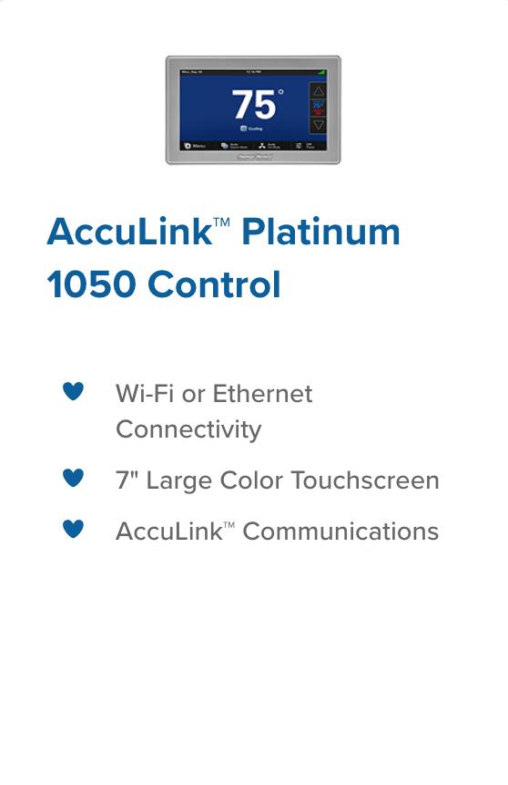 acculink 1050 control
