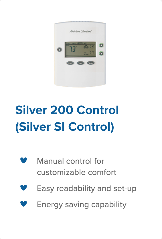 silver 200 control