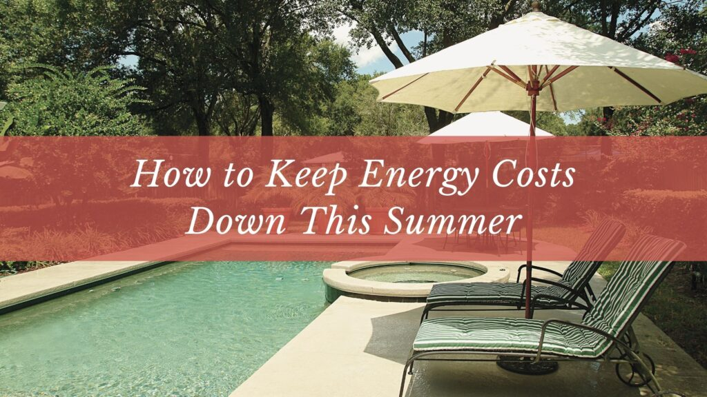 keep energy costs down