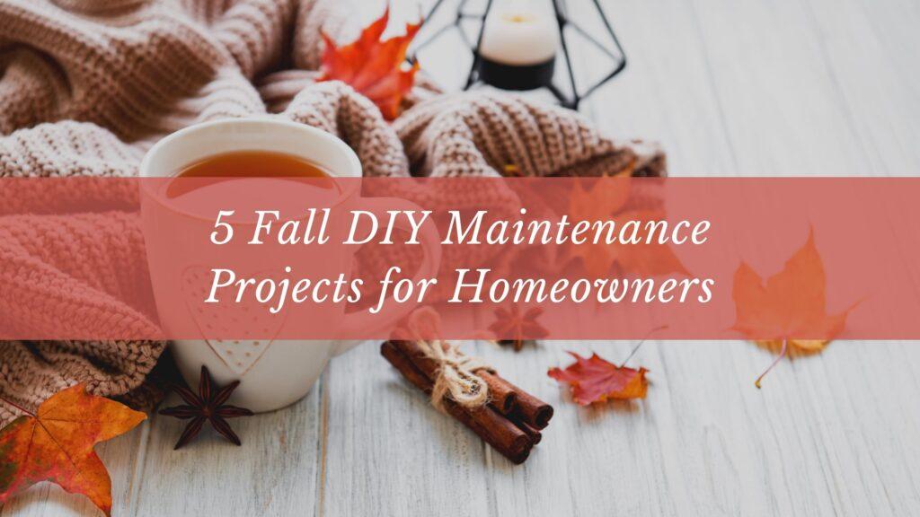 fall diy maintenance