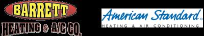 Barrett Heating and AC Co Logo Montgomery HVAC Contractor